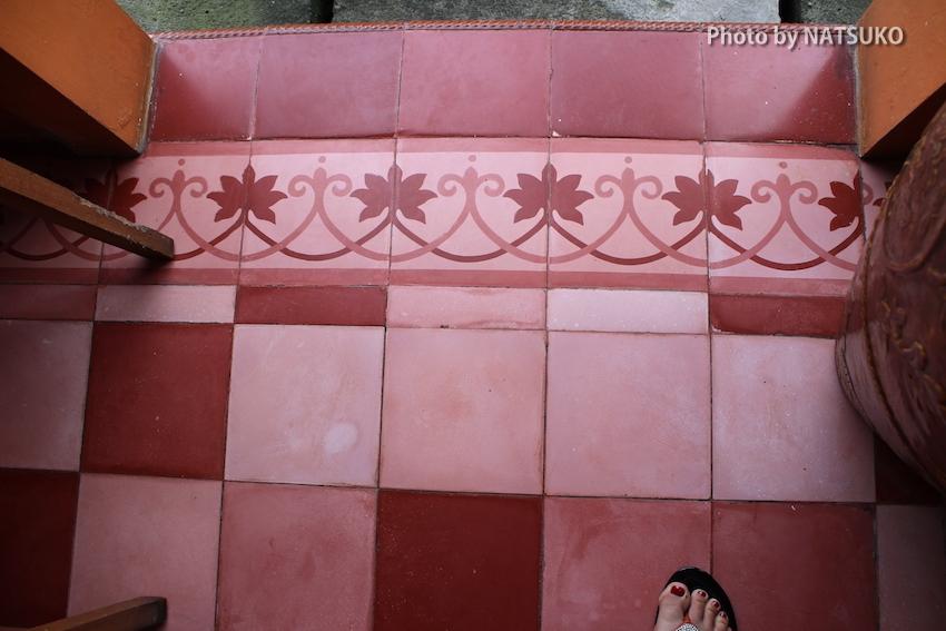 Sorasari Cement tiles / Photo by タイルショップ・ガウディ NATSUKO